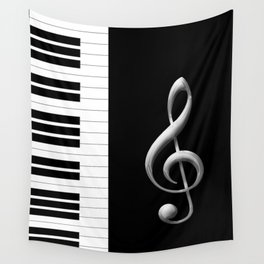 Piano Keys Wall Tapestry