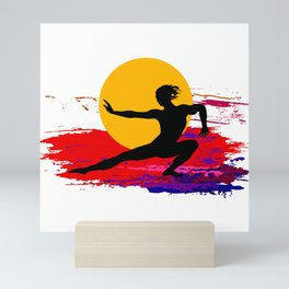 Martial art, karate, judo, aikido, self defence Mini Art Print