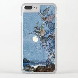 """Elves"" Fairy Tale Art by Edmund Dulac Clear iPhone Case"