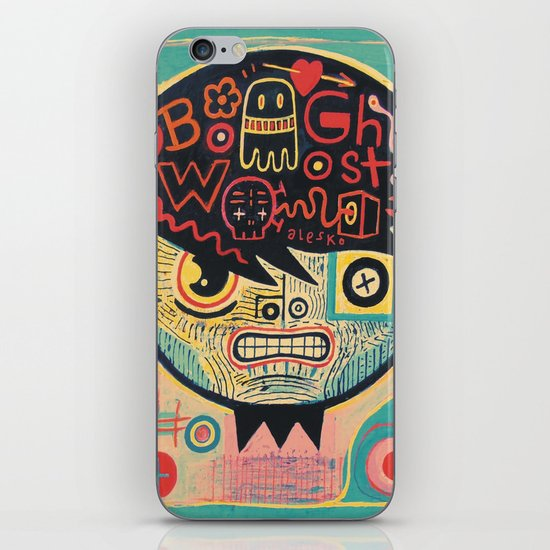 Chinese ghost story iPhone Skin