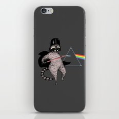 The Dark Side Of The Racoon iPhone & iPod Skin