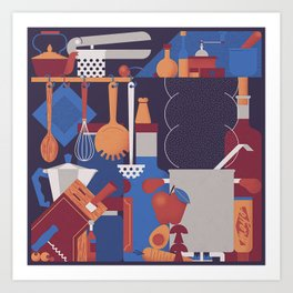 The Kitchen Art Print