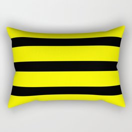 Bumblebee Stripes Rectangular Pillow