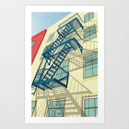 NYC greenwich village Art Print