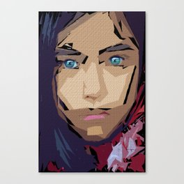 Female Expressions 710 Canvas Print