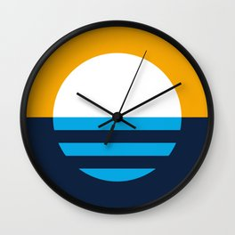 People's Flag of Milwaukee Wall Clock