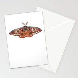 Small Emperor Moth (Saturnia pavonia) Stationery Cards