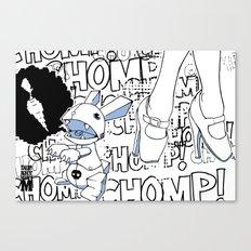 Haiku Pop Canvas Print