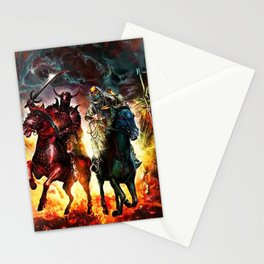 The Four Horsemen Stationery Cards