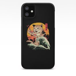 Neko Sushi Wave iPhone Case