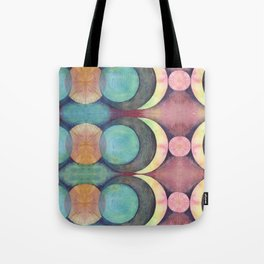 Birth of the Moon pattern Tote Bag