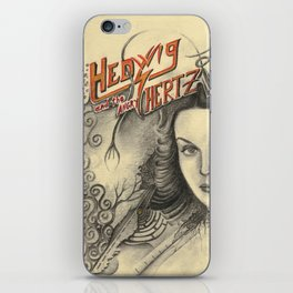 Hedwig and the angry Hertz iPhone Skin