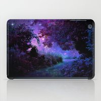 fantasy iPad Cases featuring Fantasy Path Purple by 2sweet4words Designs