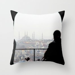 From Galata Tower Throw Pillow
