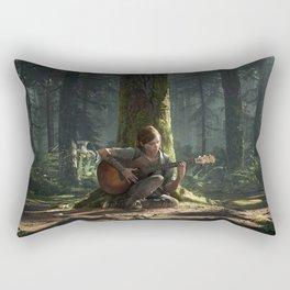 Ellie the last of us Rectangular Pillow