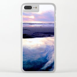 Reflection: Sky Clear iPhone Case
