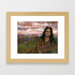 Jackson Redcloud Framed Art Print