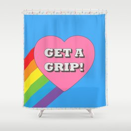 Get a Grip! Shower Curtain