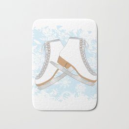 Ice skates Bath Mat