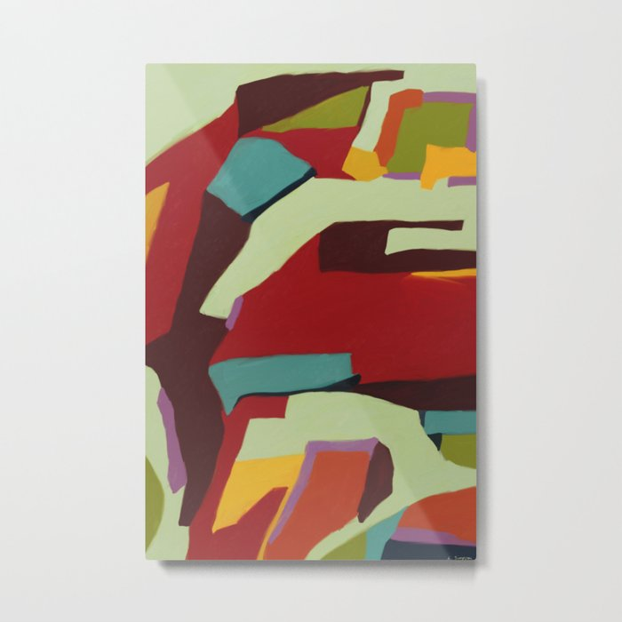 Never-ending Abstract Art Metal Print
