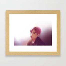 Suga Framed Art Print