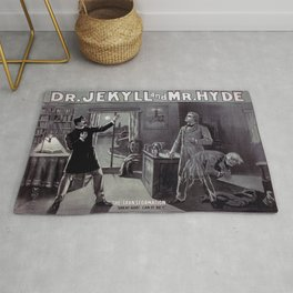 Dr. Jekyll and Mr. Hyde Rug