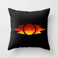 sith Throw Pillows featuring Star Wars Sith Symbol by foreverwars