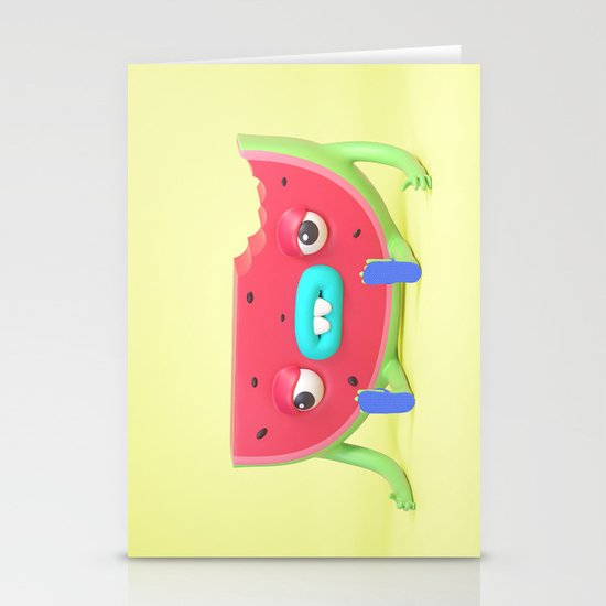 Watermelon dude by benvoldman