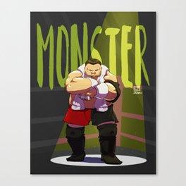 Samoa Joe -Monster Canvas Print