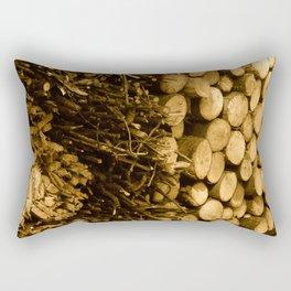 Ready for winter-time Rectangular Pillow