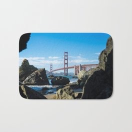 Golden Gate Bridge from Baker Beach Bath Mat