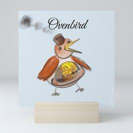 Ovenbird Mini Art Print