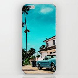 California dreaming x iPhone Skin
