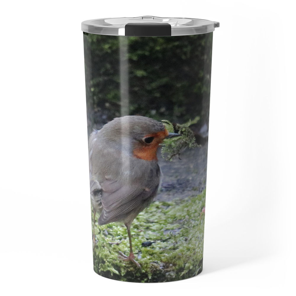 Robin Redbreast Travel Mug by bryanwb (TRM10736377) photo