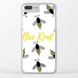 Stay Bumble Clear iPhone Case