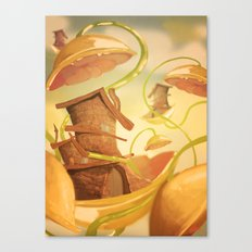 There Once Was A House Canvas Print