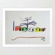 Chaval Ceara Art Print
