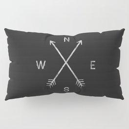 Compass Pillow Sham