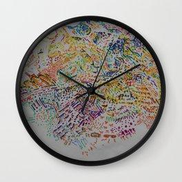 Fragment Reunion Wall Clock