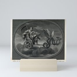 C Lasinio, after Raphael - Saturn with his Scythe, Riding in His Chariot Mini Art Print