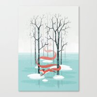 spirit Canvas Prints featuring Forest Spirit by Freeminds