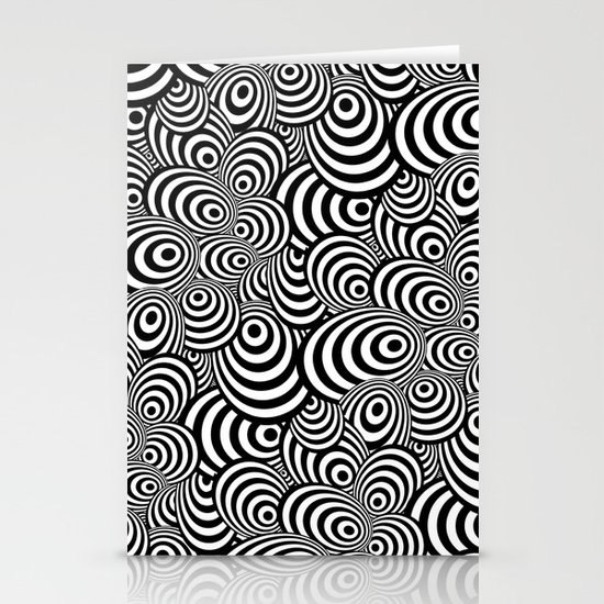 Psychedelic Zebra Stationery Cards