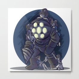big daddy Metal Print