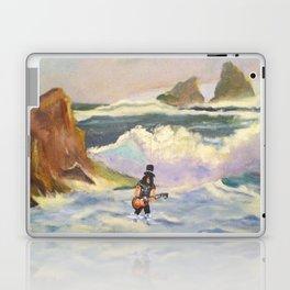 S l a s h  in the ocean Laptop & iPad Skin