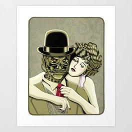 Steampunk Amore Art Print