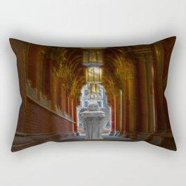 An Angel in London Rectangular Pillow