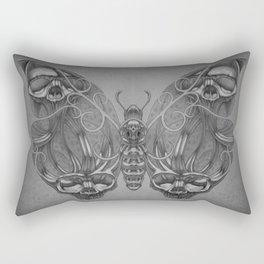 Butterfly skulls 3 Rectangular Pillow