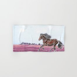 Wild Horse 1 Hand & Bath Towel