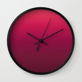 Minimal Gradient #2 Wall Clock