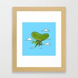 The Super Pickle Framed Art Print